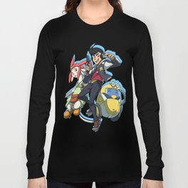 Dandy, Qt, Meow - Space Dandy Long Sleeve T-shirt