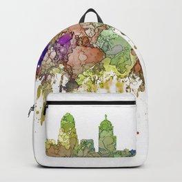 Buffalo, New York Skyline SG - Faded Glory Backpack