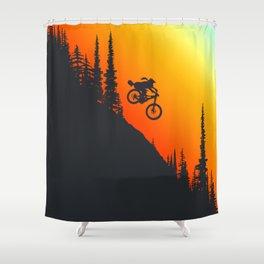 Fox Drop Shower Curtain