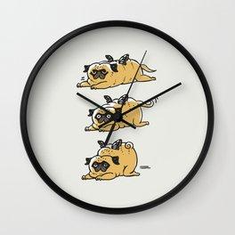 Puggerpillar Wall Clock