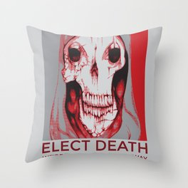 Third Party Candidate Throw Pillow