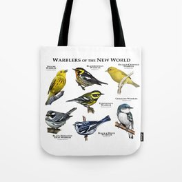 Warblers of the New World Tote Bag