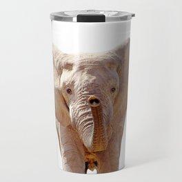 Elephant Art Travel Mug