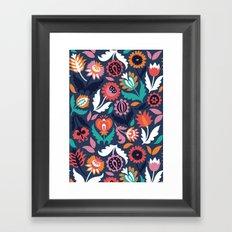 Spring song Framed Art Print