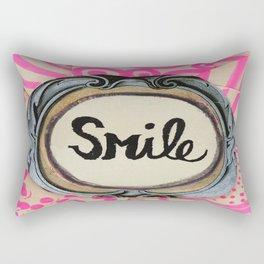 3 second smile Rectangular Pillow