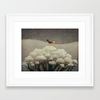 star Framed Art Prints featuring Lost Star by Paolo Domeniconi