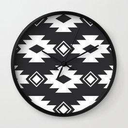 Geometric Navajo Wall Clock