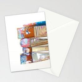 Five Paintbrushes Minimalist Photography Stationery Cards