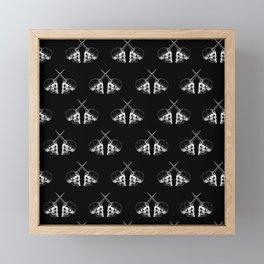 Unicorn Twins Framed Mini Art Print