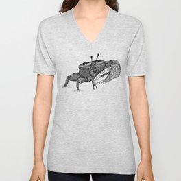 The Fiddler (Crab) Unisex V-Neck