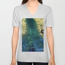 Cave of the Green Pearl Unisex V-Neck