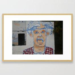devereux beach Framed Art Print