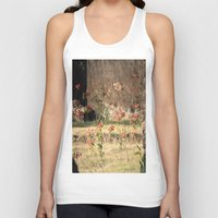 poppy Tank Tops featuring Poppy by Four Hands Art