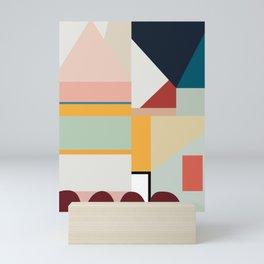 modern abstract II Mini Art Print