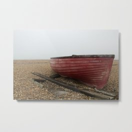 Waiting On The Shore Metal Print