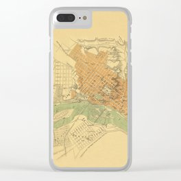 Map of Richmond 1864 Clear iPhone Case