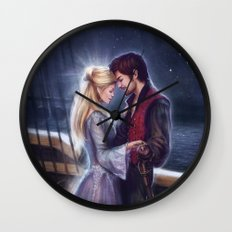 The Pirate and the Star Wall Clock