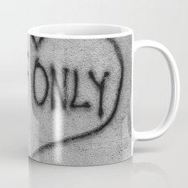 If Only Street Graffiti in Milan Coffee Mug