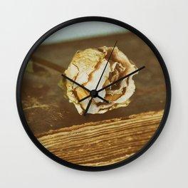 Timeworn Beauty 1 Wall Clock