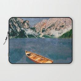 Space Lake at Pragser Wildsee Laptop Sleeve