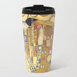 Gustav Klimt - Tree of Life (detail) 1909 Travel Mug