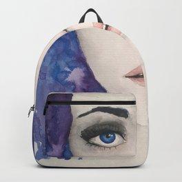 Blue Girl Backpack