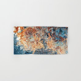 Rustic abstract colourful background Hand & Bath Towel