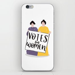 Votes for Women iPhone Skin