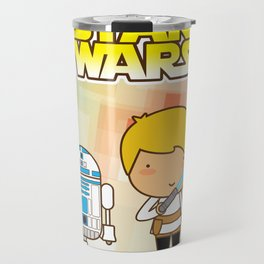 Luke Skywalker and R2D2 Travel Mug