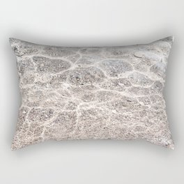 Clear sea with sun reflections Rectangular Pillow