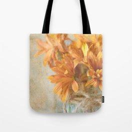 Mason Jar Daisy Bunch Tote Bag