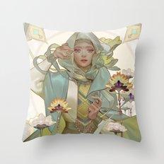 citrine Throw Pillow