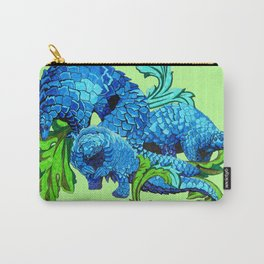 Floral Pangolins Carry-All Pouch