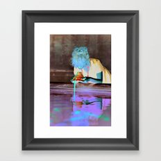 Flower by Kenza Framed Art Print
