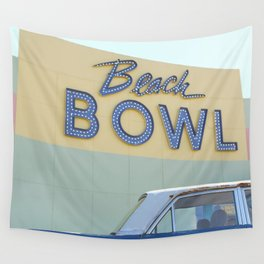 Beach Bowl Wall Tapestry