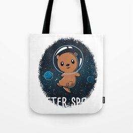 Funny Otter Platz product – perfekte Geschenk Tote Bag