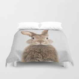 Rabbit - Colorful Duvet Cover