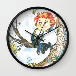 Cabin Pressure: Uskerty Wall Clock