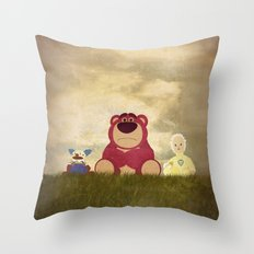 The Tragedy of Lotso Throw Pillow