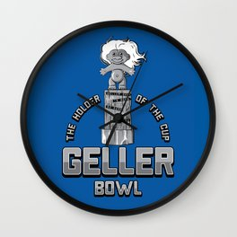 Geller Bowl (Holder of the Geller Cup) - Friends Wall Clock