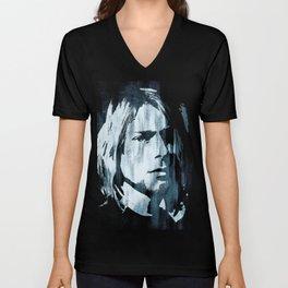 Kurt# Cobain#Nirvana Unisex V-Neck