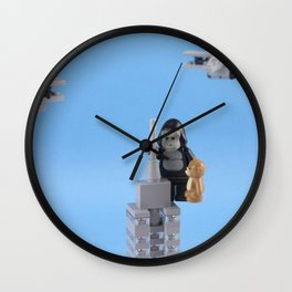 Don't Mess With My Teddy Bear Wall Clock