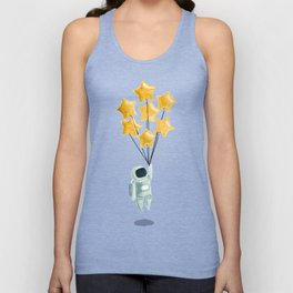 Astronaut's dream Unisex Tank Top