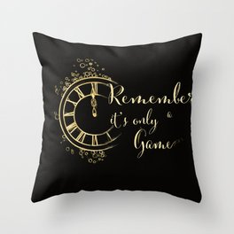 "Caraval"" by Stephanie Garber Throw Pillow"