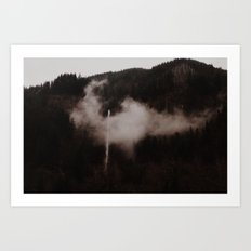Oregon Waterfalls Art Print