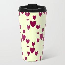 Diamond Hearts Travel Mug