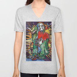 The Great Mother Unisex V-Neck