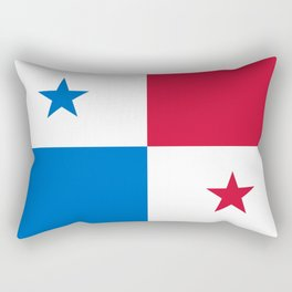 flag of panama-Panama,Panamanian,canal,spanish,San Miguelito,Tocumen,latine,central america,panameno Rectangular Pillow