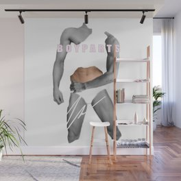 """HARD HANDSOME"" BY ROBERT DALLAS Wall Mural"