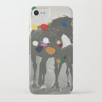 pony iPhone & iPod Cases featuring PONY by Beth Hoeckel
